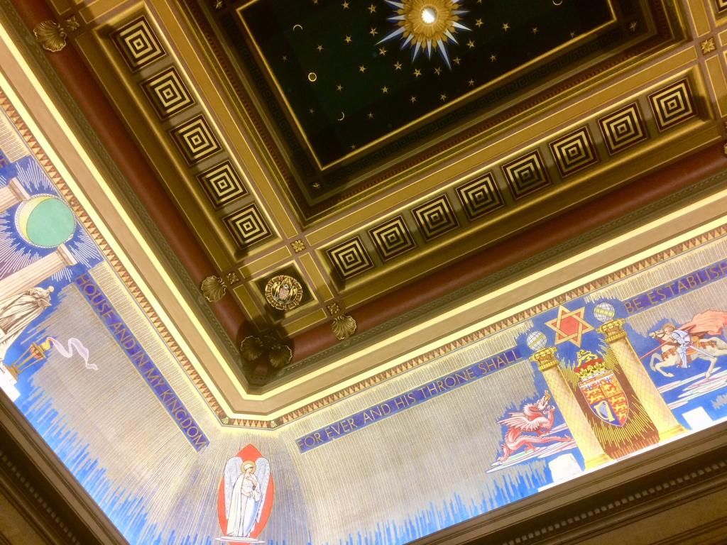 UGLE Temple Ceiling 2