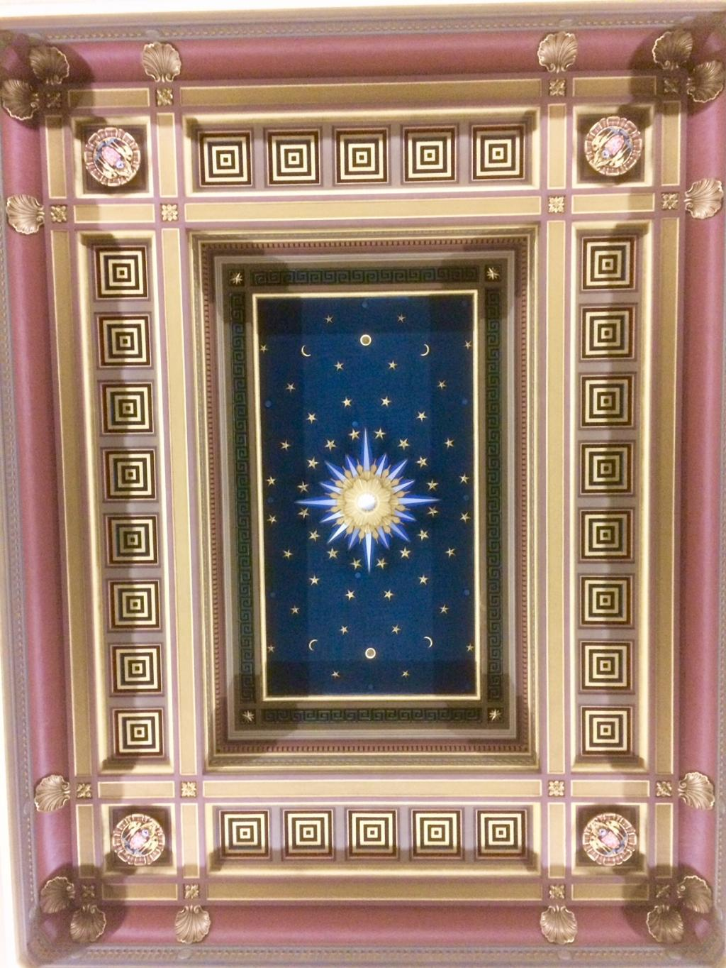 UGLE Starred Ceiling 1